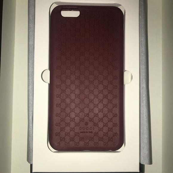 online store 6b959 9f472 Gucci iPhone 6s Plus Phone case